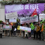Photo manif contre le PLU Pal. site